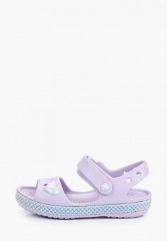 Сандалии, Crocs, цвет: фиолетовый. Артикул: CR014AGIJVC6.
