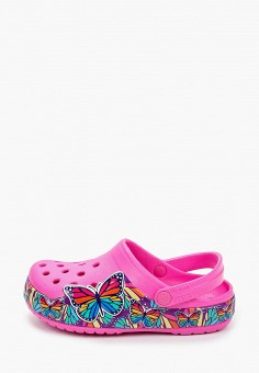 Сабо, Crocs, цвет: розовый. Артикул: CR014AGIJVD9.