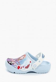Сабо, Crocs, цвет: голубой. Артикул: CR014AGIJVE0.