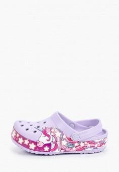 Сабо, Crocs, цвет: фиолетовый. Артикул: CR014AGIJVE1.