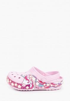 Сабо, Crocs, цвет: розовый. Артикул: CR014AGIJVE6.