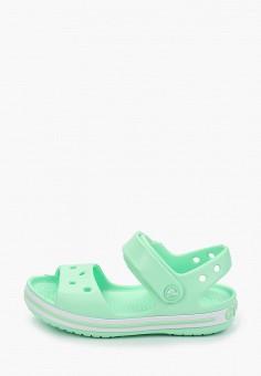 Сандалии, Crocs, цвет: зеленый. Артикул: CR014AGIJVF0.