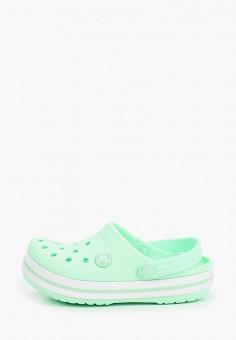 Сабо, Crocs, цвет: зеленый. Артикул: CR014AGIJVF5.