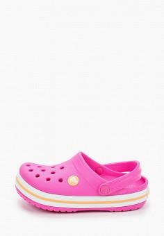 Сабо, Crocs, цвет: розовый. Артикул: CR014AGIJVF7.