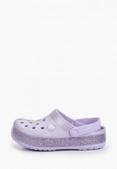 Сабо, Crocs, цвет: фиолетовый. Артикул: CR014AGIJVG0.
