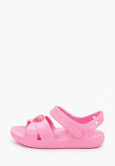 Сандалии, Crocs, цвет: розовый. Артикул: CR014AGIJVG3.