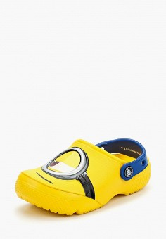 Сабо, Crocs, цвет: желтый. Артикул: CR014AKARQC7.