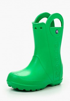 Резиновые сапоги, Crocs, цвет: зеленый. Артикул: CR014AKGHM77.