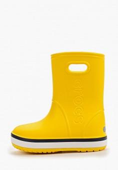 Резиновые сапоги, Crocs, цвет: желтый. Артикул: CR014AKGKYO7.