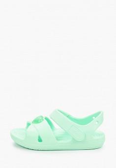 Сандалии, Crocs, цвет: зеленый. Артикул: CR014AKIJVC5.