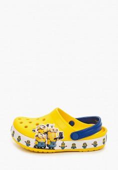 Сабо, Crocs, цвет: желтый. Артикул: CR014AKIJVC9.