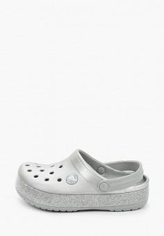 Сабо, Crocs, цвет: серый. Артикул: CR014AKIJVD6.