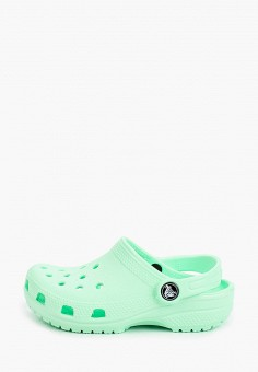 Сабо, Crocs, цвет: зеленый. Артикул: CR014AKIJVF3.