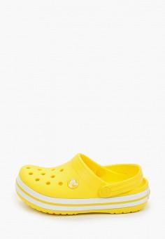 Сабо, Crocs, цвет: желтый. Артикул: CR014AKIJVF8.