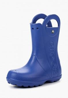 Резиновые сапоги, Crocs, цвет: синий. Артикул: CR014AKRFF26.