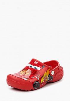 Сабо, Crocs, цвет: красный. Артикул: CR014AKRFF59.