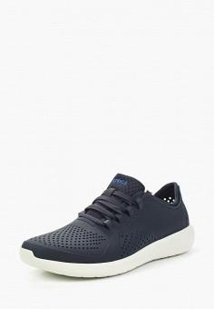 Кроссовки, Crocs, цвет: синий. Артикул: CR014AMARRC4.