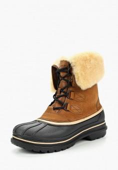 Ботинки, Crocs, цвет: коричневый. Артикул: CR014AMCQKM6.