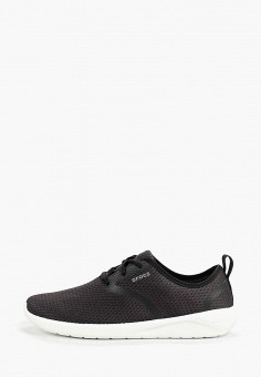 Кроссовки, Crocs, цвет: черный. Артикул: CR014AMEMXY9.