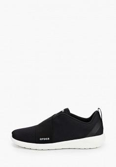 Кроссовки, Crocs, цвет: черный. Артикул: CR014AMIJPS4.
