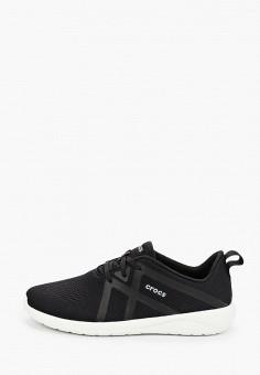 Кроссовки, Crocs, цвет: черный. Артикул: CR014AMIJPS5.