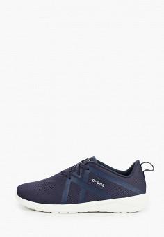 Кроссовки, Crocs, цвет: синий. Артикул: CR014AMIJPU4.