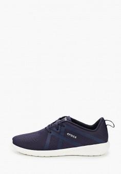Кроссовки, Crocs, цвет: синий. Артикул: CR014AMKFLE7.