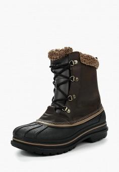 Ботинки, Crocs, цвет: коричневый. Артикул: CR014AMLGI18.