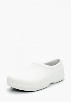 Галоши, Crocs, цвет: белый. Артикул: CR014AUARRD6.