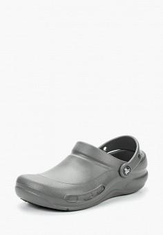 Сабо, Crocs, цвет: серый. Артикул: CR014AUCQKA2.