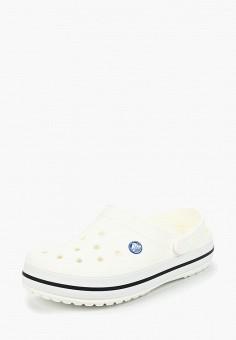 Сабо, Crocs, цвет: белый. Артикул: CR014AUCQKM9.