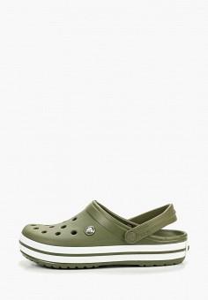 Сабо, Crocs, цвет: зеленый. Артикул: CR014AUEMXX0.