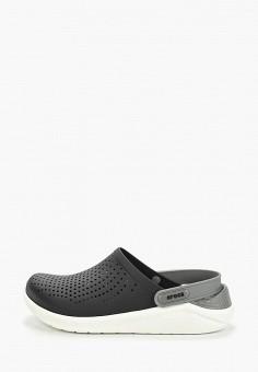 Сабо, Crocs, цвет: черный. Артикул: CR014AUEMXX2.