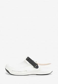 Сабо, Crocs, цвет: белый. Артикул: CR014AUEMXZ9. Обувь / Резиновая обувь