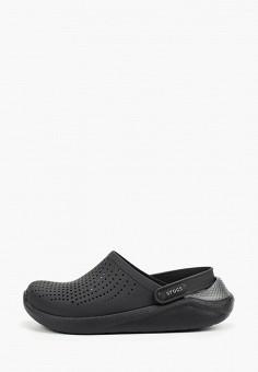 Сабо, Crocs, цвет: черный. Артикул: CR014AUGKYK8.