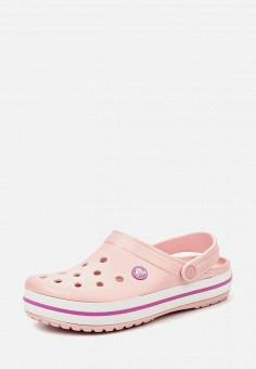 Сабо, Crocs, цвет: розовый. Артикул: CR014AUIEB88.
