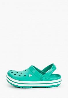 Сабо, Crocs, цвет: зеленый. Артикул: CR014AUIJPS6.