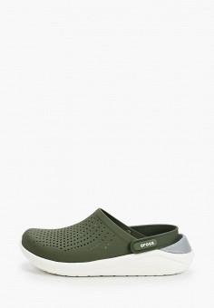 Сабо, Crocs, цвет: зеленый. Артикул: CR014AUIJPS8.