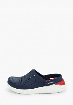 Сабо, Crocs, цвет: синий. Артикул: CR014AUIJPS9.