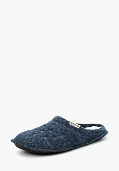 Тапочки, Crocs, цвет: синий. Артикул: CR014AULGI06. Обувь / Домашняя обувь