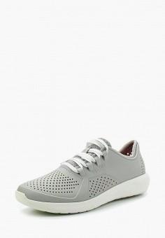 Кеды, Crocs, цвет: серый. Артикул: CR014AWARRL2.