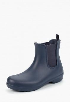 Резиновые ботинки, Crocs, цвет: синий. Артикул: CR014AWCQJW9.