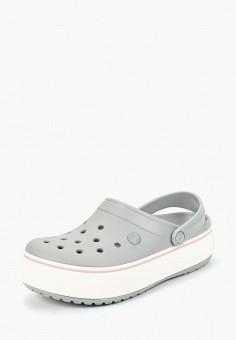 Сабо, Crocs, цвет: серый. Артикул: CR014AWCQJY3.