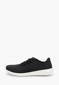 Кроссовки, Crocs, цвет: черный. Артикул: CR014AWEMNA2.