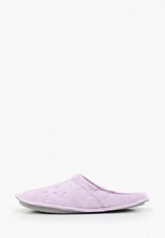 Тапочки, Crocs, цвет: фиолетовый. Артикул: CR014AWGLAT7.