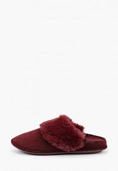Тапочки, Crocs, цвет: бордовый. Артикул: CR014AWGLAT9.