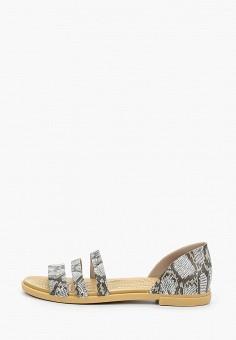 Сандалии, Crocs, цвет: серый. Артикул: CR014AWIKCB0.