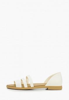 Сандалии, Crocs, цвет: белый. Артикул: CR014AWIKCD9.