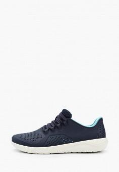 Кроссовки, Crocs, цвет: синий. Артикул: CR014AWIKCG1.
