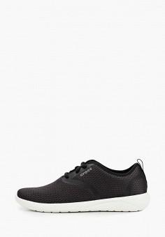 Кроссовки, Crocs, цвет: черный. Артикул: CR014AWIKCG2.